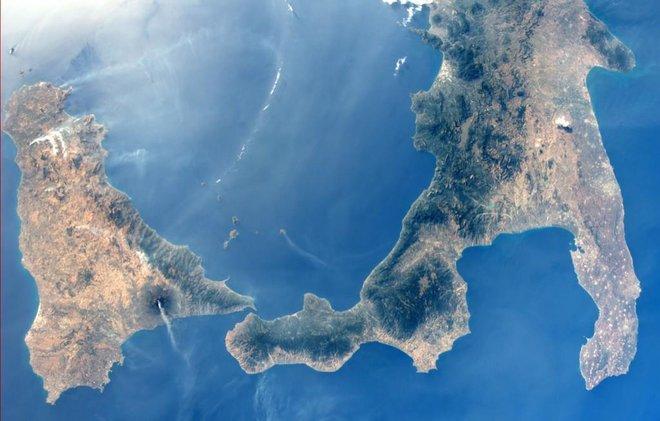 L'Etna dallo spazio